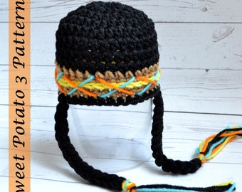 PATTERN Indian Thanksgiving Hat - Crochet