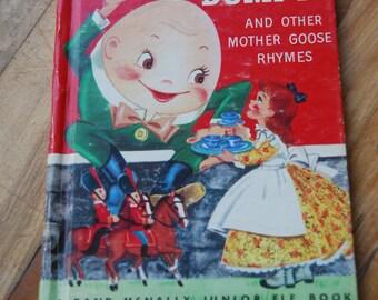 Vintage Children's Book, Humpty Dumpty