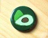 Avocado //  1.25 inch button