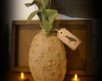 "Primitive Pineapple  13"" Tall"