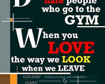 fitness motivation  etsy