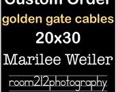 Custom Order for Marilee Weiler