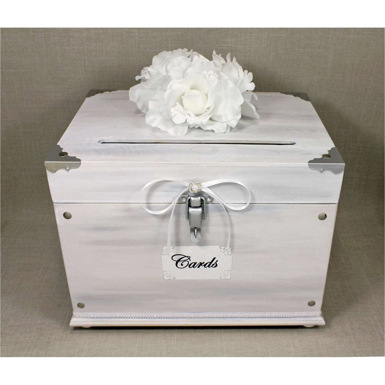 Vintage Trunk Wedding Card Box Wedding Card Box Trunk