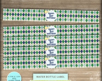 Avery 22845 labels etsy for Water bottle labels template avery