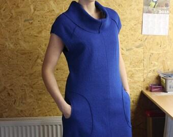Sleeveless Wool Tunic