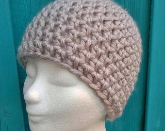 crochet Hat [bjork, adult size]