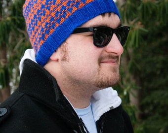 PATTERN: Dad's Fair Isle Beanie