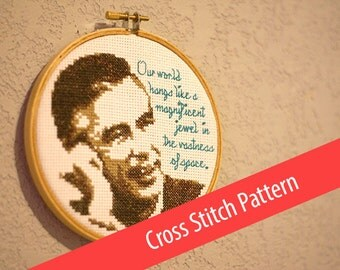 Pattern for Cross Stitch - Mister Rogers