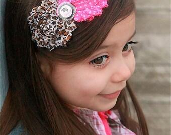 Big Sister Headband, Sister Headband, Pregnancy Announcement, Leopard Headband, Pink Baby Headband, Family Photos, Polka Dot Headband, Teen