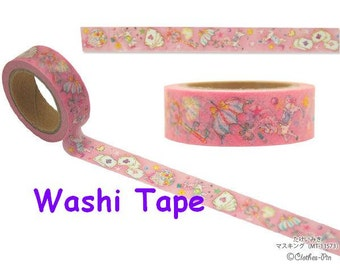 Fancy horse washi tape princess horse tape sticker baby pink tape lovely deco tape fairy tale world Masking Tape sticker pony sticker tape