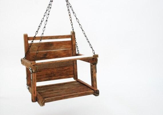 vintage kinderschaukel holz schaukel von littlecows auf etsy. Black Bedroom Furniture Sets. Home Design Ideas