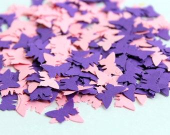 Purple Butterfly Confetti - Purple butterfly - Purple and Pink - Confetti - Butterfly Confetti - Small butterflies - Party Favors