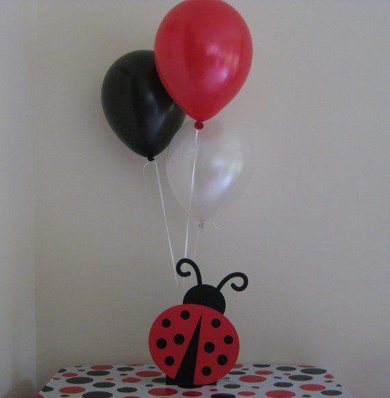Items similar to ladybug birthday party baby shower