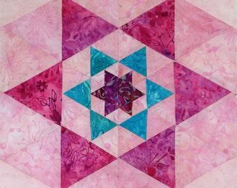 "Sunapee Star Pattern PDF- 3"",6"",9"",12"" enclosed"