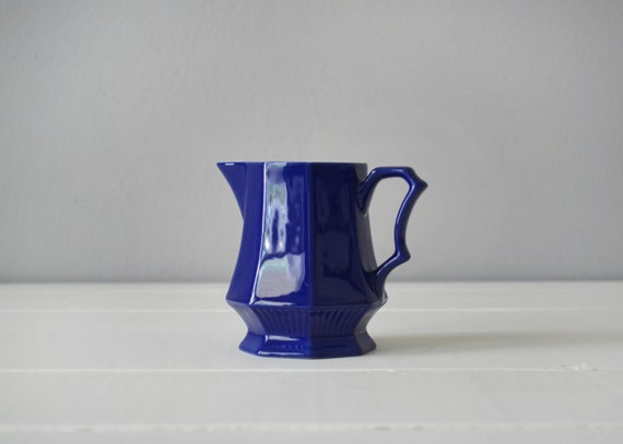 royal blue kitchen accessories items similar to ironstone creamer royal blue kitchen 4909
