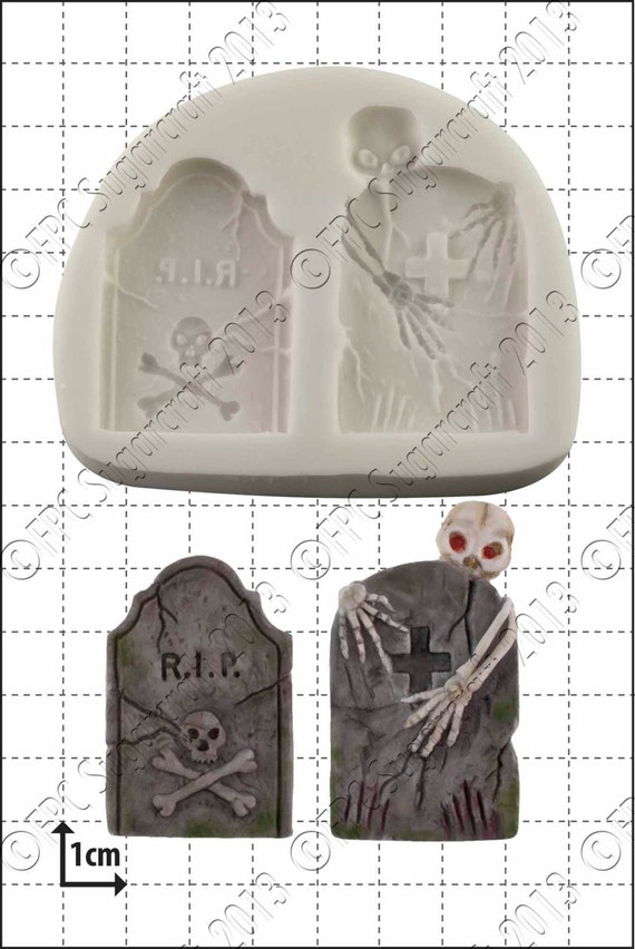 You can buy theTombstone Baking Molds - FPC Sugar Craft here
