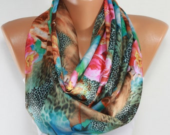 Double Sided Scarf Floral Scarf Rose Print Scarf 3D Print Scarf Foulard Spring Scarf Summer Scarf Women Fashion Gift Ideas For Her ESCHERPE