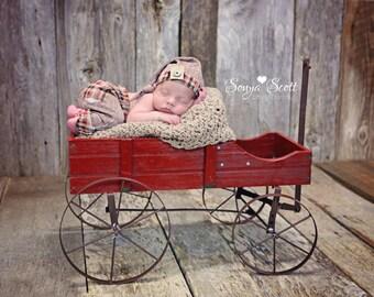 SALE Newborn boy set,newborn boy photo props, Newborn boy hat , newborn boy pant, newborn boy metallic knit  Pant Set, photo prop
