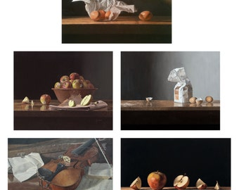 Still Life Postcard Selection by Benjamin Hope: Pack of 10.