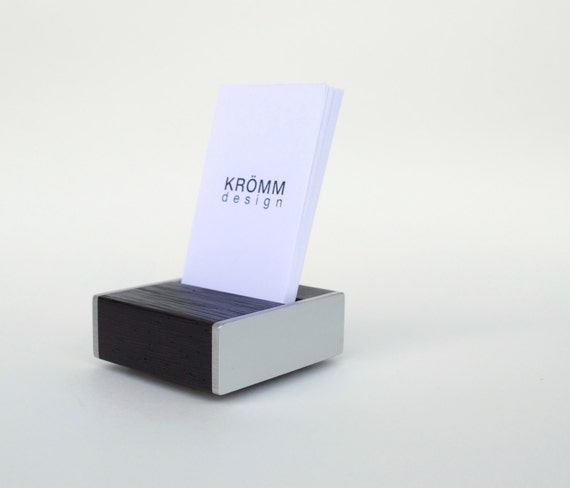 Business Card Stand Business Card Holder by KROMMdesign