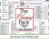The Cleaning Pack (7 documents) EXPANDED INSTANT DOWNLOAD