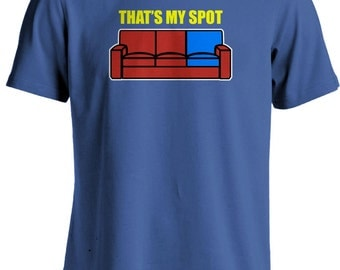 The Big Bang Theory - Sheldon Cooper - Thats My Spot T-shirt