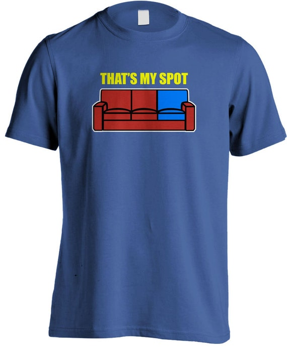May The 4th Be With You Sheldon Cooper: The Big Bang Theory Sheldon Cooper Thats My Spot T-shirt