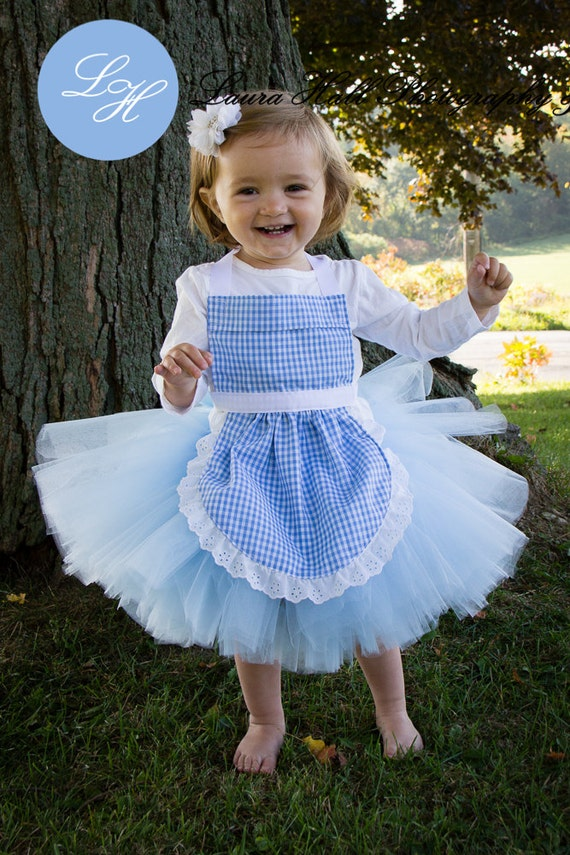 DOROTHY TUTU apron set Dorothy tutu dress by LuLaBellsTutus