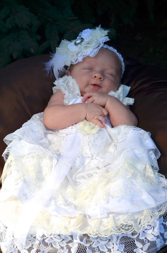 Baby Lace Baptism Dress