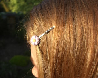 Daisy Hair Grip ~ 10+ colours to choose from