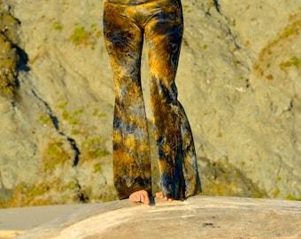 VELVET 70's velour fall fashion hippie chic boho dance yoga festival burning man gypsy flare bell bottom pants (or leggings)