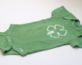 Custom Listing for Ruby - Matching Set of Green Clover T-shirts