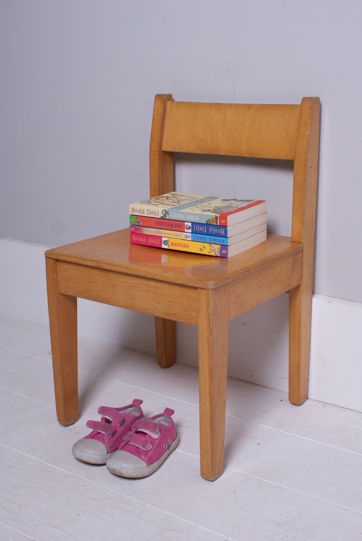 Children 39 S Vintage Wooden Chair Children 39 S Furniture