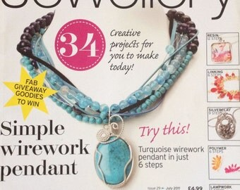 Making Jewellery Magazine July 2011 - Destash