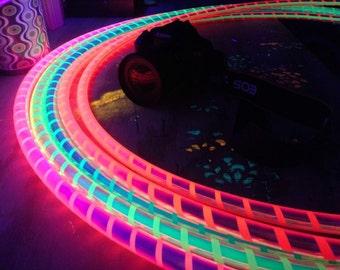 "5/8"" UV Glow Shifters // Polypro Hoops // HDPE Hoops"