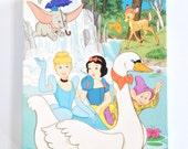 Vintage Disney 100 Piece Puzzle