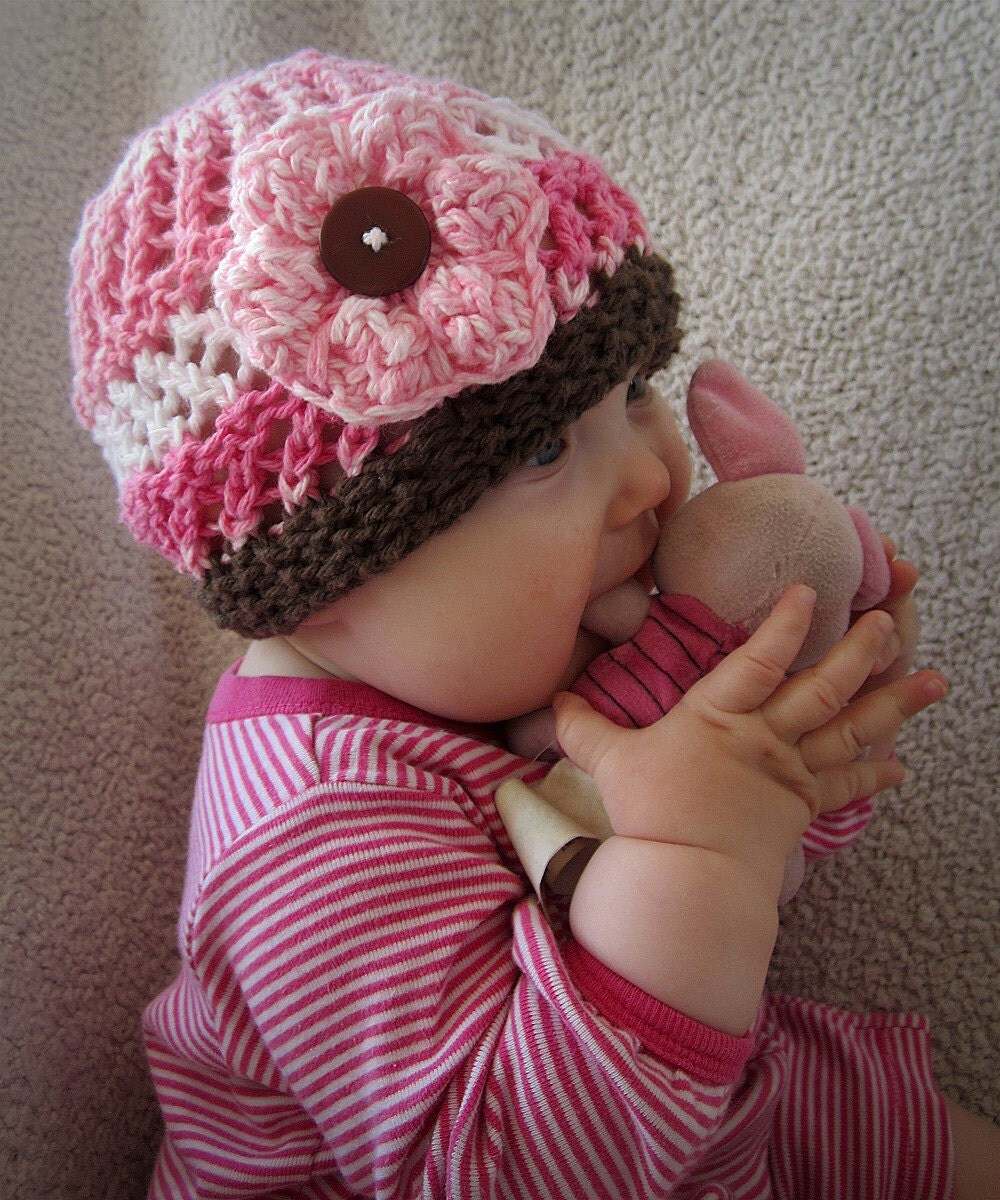 KNITTING PATTERN PDF beanie Baby Hat Baby knit hat pattern