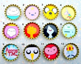 Adventure Time Character Badges