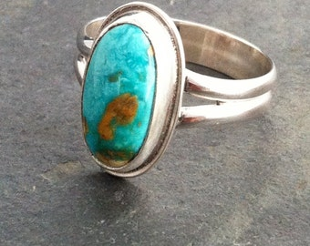 Easter Blue Turquoise on Sterling