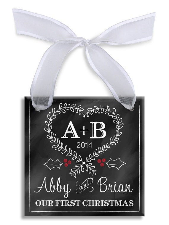 Our First Christmas Ornament Personalized by ...