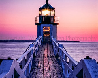 Marshall Point Lighthouse Digital Download Stock Photography from William Britten