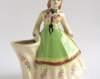 Weil Ware -- Girl With the Chartreuse Apron