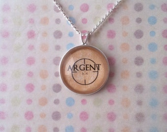 Teen Wolf Argent Target Necklace