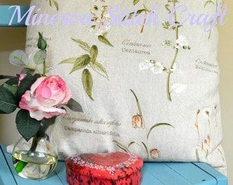 """Flora and Fauna 18"""" Cushion"""