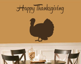 Thanksgiving Decorations-Happy Thanksgiving with Turkey