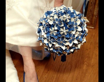 Paper Flower Bridal Boquet