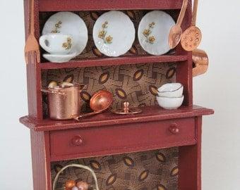 Miniature Soup Cupboard Kitchen Cabinet