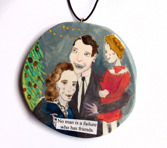 Christmas Tree Ornament It 39 S A Wonderful Life Holiday