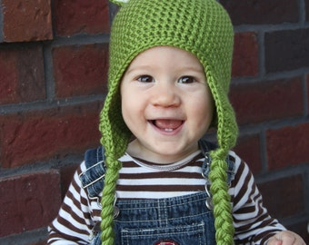 Frog Hat for Child