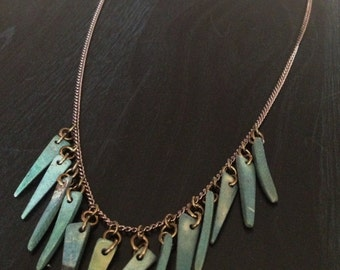 Coconut Wood Bead Necklace